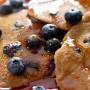 AIP Blueberry Pancakes